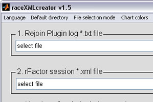raceXMLcreator version 1.5 released